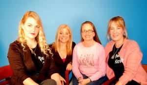 Marsha, Jennifer, Erin, Kirsten