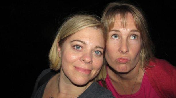 Suicide Bridge Jen and Kirsten May 2014